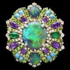 'Résille Bouquet d'Opales' ring by Victoire de Castellane, Dear Dior ...mercy me, that is gorgeous! ♥
