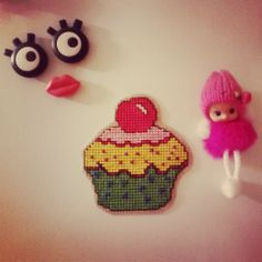 Looks yummy?? Avoid biting since it is a magnet :) #crossstitch