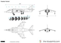 Hawker Harrier Airplane Drawing, Car Vector, Signwriting, Car Drawings, Line Drawing, Cutaway, Aircraft, Jets, Airplanes