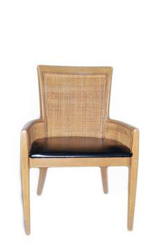 Hibriten Chair Cane Back Chair Mid Century Chair