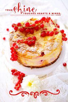 Kessy's Pink Sugar: Johannisbeer Käsekuchen mit Bienenstichkruste