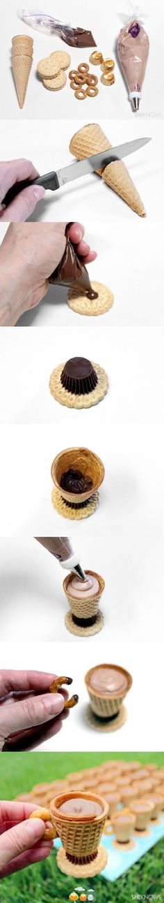 Chocolate Tea cups