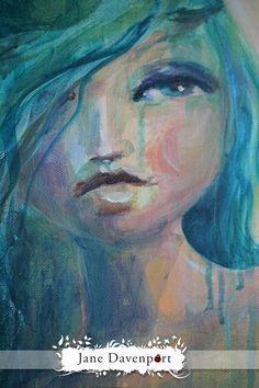 Green Mermaid - Jane Davenport
