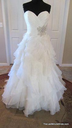 Allure Bridals 8862 Designer: Allure Bridals  Style: 8862  Silhouette: Ball Gown  Neckline: Sweetheart (Strapless)  Waistline: Natural Waist  Sleeve Style: Strapless  Dress Length: Floor Length