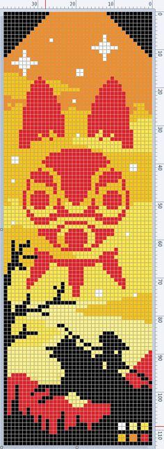 Cross Stitch Charts, Cross Stitch Patterns, String Bracelet Patterns, Pixel Art Grid, Anime Pixel Art, Pixel Pattern, Minecraft Designs, C2c Crochet, Perler Bead Art