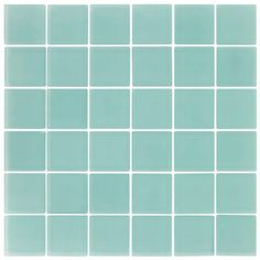 Elida Ceramica�Glass Mosaic Caribe Glass Mosaic Square Wall Tile (Common: 12-in x 12-in; Actual: 11.75-in x 11.75-in)