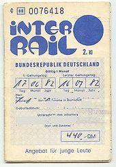InterRail – Ticket
