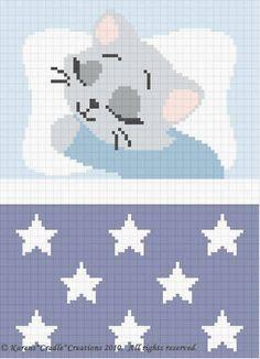 Crochet Patterns Sweet Dreams Baby Boy Kitten Pattern | eBay