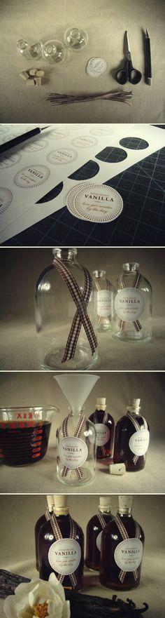 Holiday Gift DIY: Homemade Vanilla | Brunch at Saks - I am doing this!!!
