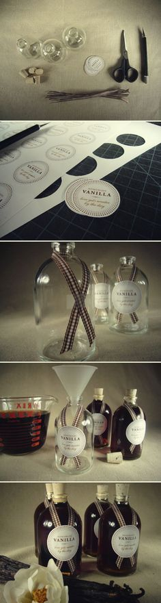 Holiday Gift DIY: Homemade Vanilla | Brunch at Saks - I am doing this!!!