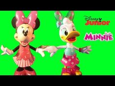Minnie Mouse Sweet Cherry Minnie Poolside Daisy Disney Junior Fun Snap-On Fashion Fun Kids Toy Video - YouTube
