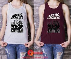 arctic monkey rock band Tank Top, Arctic Monkeys for Men Tank Top, Ladies Tank Top, Adult Tank Top - TeesCase