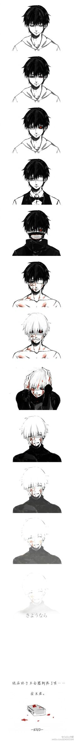 The changes Kaneki went through just because he wanted to go on a date. Did he really deserve this?