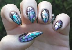 Nail Designs 2016/2017 - talhopper: Super Shifty Forest! I love the way this turned out...