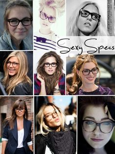 cf8cc2a7646f Sexy Specs Eye Doctor, Wearing Glasses, Happy Thursday, Girls With Glasses,  Specs