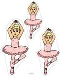 Picture sequences for preschool - ballet