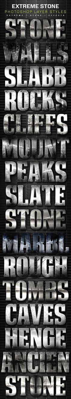 16 Extreme Stone Layer Styles Volume 6