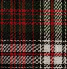 MacDonald Ancient dress tartan