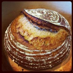 'Four grain levain, taken from Jean-Michel Bergougnoux's formula', Jeremy Shapiro @Jeremy Shapiro