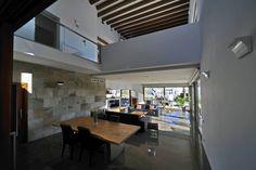 Vista de las zonas de estar (De Chiarri arquitectura)