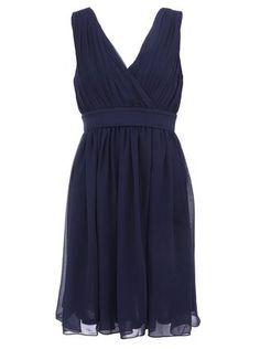 Fever London - Tmavě modré šaty  Cecilia - 1