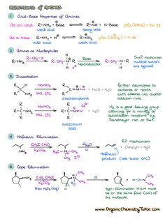 Chemistry Class 12, Organic Chemistry Tutor, Organic Chemistry Reactions, Chemistry Basics, Chemistry Study Guide, Chemistry Classroom, Chemistry Notes, Chemistry Lessons, Math Formula Chart