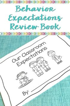 Help your students remember the behavior expectations in the classroom by using this interactive book. Mindfulness begins in developing strong routines. This is the perfect way to help your kindergarten, grade, and grade students develop the appr Classroom Expectations, Classroom Behavior, Classroom Activities, Classroom Management, Class Management, Behavior Management, Kindergarten Literacy, Literacy Centers, Classroom Decor