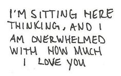 And its driving me crazy that you don't care at all..