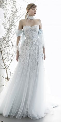 15 Mira Zwillinger Wedding Dresses 2018 ❤ mira zwillinger wedding dresses a line off the shoulder sweetheart floral appliques ❤ Full gallery: https://weddingdressesguide.com/mira-zwillinger-wedding-dresses/