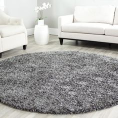 Polyester Rug 220 Liked On Polyvore Featuring Home Rugs Grey Area Dark And Plush