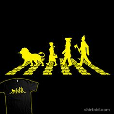 ...follow the Yellow Brick Abbey Road...