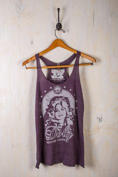 Classic Dolly Parton Tank Top on BourbonandBoots.com