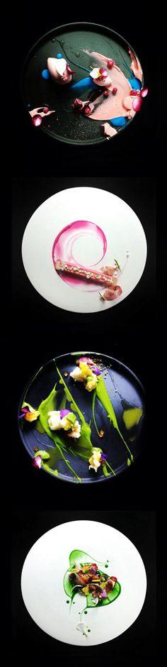 Decor Inspiration: Poetry #Food by Yann Bernard Lejard