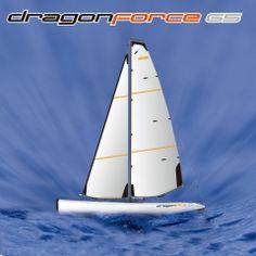 Big Fast Racing RC Sailing boat for Adults DragonForce65 - Joysway Hobby Model Sailboats, Im Waiting For You, Rc Hobbies, Sailing Boat, Boat Building, Racing, Big, Running, Sailboats