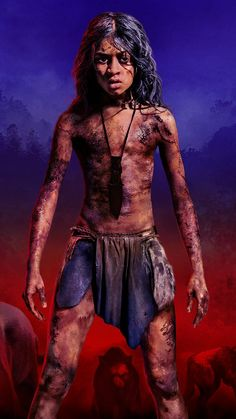 Mowgli Movie Mobile Wallpaper (iPhone, Android, Samsung, Pixel, Xiaomi) - Best of Wallpapers for Andriod and ios Good Old Movies, Book Costumes, Horror Drawing, The Neverending Story, African Theme, Black Widow Marvel, Drawing Projects, Movie Wallpapers, Story Characters