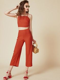 The Trixie Two Piece https://www.thereformation.com/products/trixie-two-piece-persimmon?utm_source=pinterest&utm_medium=organic&utm_campaign=PinterestOwnedPins