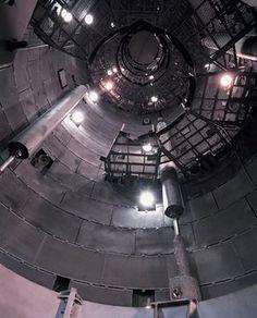 Empty Launch Silo – Titan II ICBM Silo 395-C, Vandenberg air force base, California in 1995
