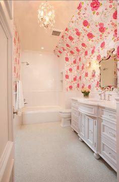 Kids Bathroom #Kidsbathroom Bathroom Kids, Laundry In Bathroom, Kid Bathrooms, Green Bathrooms, Timeless Bathroom, Beautiful Bathrooms, Traditional Bathroom, Modern Traditional, Affordable Home Decor