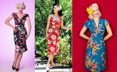 Making tiki dresses
