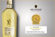 VELENOSI si tinge d'ORO al SIDNEY International Wine Competition.  Il nostro Villa Angela Offida Pecorino DOCG 2014 ha ricevuto la medaglia d'ORO alla Sidney International Wine Competition.   Un grande riconoscimento per il nostro bianco dal gusto coinvolgente.