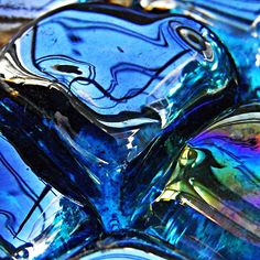 Glass Abstract 65 Photograph by Sarah Loft