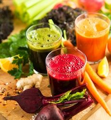 Juicing is a tool that is often used by fitness experts and those who are trying to improve their health.  According to the CDC (Centers for Disease Control and Prevention), everyone needs to fill half their plate with fruits and veggies at each meal in order to get the vitamins and nutrients they need to be healthy.