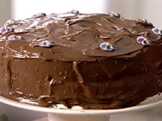 """101 Chocolate Desserts (Part II) : """"Tyler Florence's Chocolate Pudding"""", """"Nigella Lawson's Old-Fashioned Chocolate Cake"""", """"Best Ever Chocolate Brownies"""" and """"German Chocolate Cake With Coconut-Pecan Cajeta Frosting"""" 
