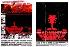 Movie Poster remixed into concert poster