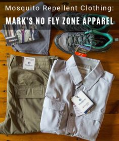 Mosquito Repellent Clothing: Mark's No Fly Zone Apparel Misquito Repellant, Mosquito Repellent Clothing, Mosquito Spray, Canadian Travel, Flyer, What To Pack, Vietnam Travel, What I Wore, Trip Planning