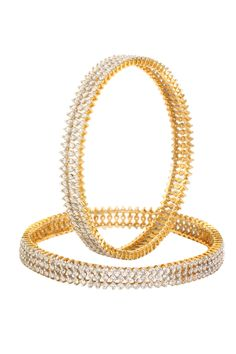 Dilan Jewels HAPPINESS Collection Shimmer Party Studded Bangles For Women. Just Like Diamonds. Shimmer.