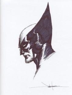Wolverine by Jae Lee, in Alex Hunter's Wolverine Comic Art Gallery Room Comic Book Artists, Comic Book Heroes, Comic Artist, Comic Books Art, Art Sketches, Art Drawings, Jae Lee, Deadpool Art, Royal Art