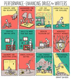 Performance-Enhancing Drugs for Writers