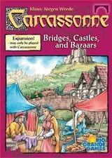 Castles, Bridges & Bazaars Carcassonne Expansion
