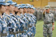 thời điểm những sinh viên năm nhất bắt đầu khóa huấn luyện quân sự